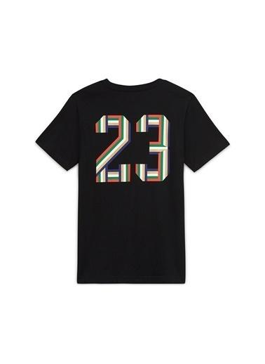 Nike Nike 95A079-023 Siyah Erkek Çocuk T-Shirt Siyah
